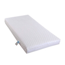 BABY TODDLER COT BED MATTRESS QUILTED ZIPPED COVER - 140x70cm - 120x60cm