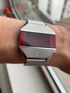 NEW YEMA LED Silver watch, YMHF1575-AM