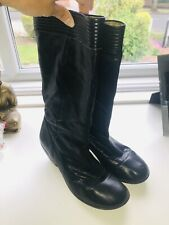 Fly London Blah Boots Black Size 6