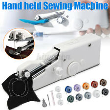 Travel Home Portable Cordless Handheld Single Stitch Fabric Sewing Machine Tool