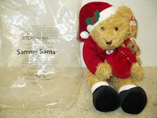 Nip Avon Sammy Santa Plush Stuffed Toy Dated 2001