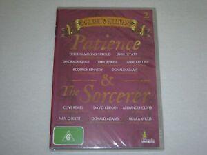 Gilbert And Sullivan - Patience & Sorcerer - Brand New & Sealed - Region 4 - DVD