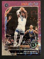 2019-20 NBA Hoops Premium Stock Jaylen Nowell Rookie Purple Disco Prizm RC SP