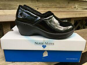 Patent Leather Comfort Nurse Mates