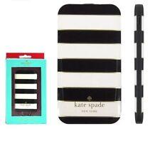 Authentic OEM Kate Spade 1800mAh Slim Portable Charger Power Bank Black / Cream