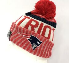 2017-18 New England Patriots NEW ERA NFL On field SIDELINE SPORT KNIT Cap Beanie
