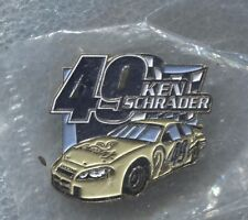 KEN SCHRADER NASCAR PIN, Still in package
