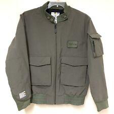 Burton Idiom Winter Snow Jacket Coat Bomber Green Size M Boarding