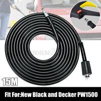 15M Rohrreinigungsschlauch Hochdruckreiniger Schlauch Für Black & Decker