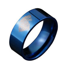 AU/Man's Stainless Steel Ring Game of Thrones Wolf Titanium Steel Rings/FSF