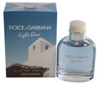Light Blue Living Stromboli by Dolce & Gabbana 4.2 oz /125 ml Edt Spray New Box