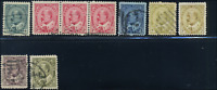 Canada #89-94 used F+/Superb 1903-1908 King Edward Part Set CV$108.70