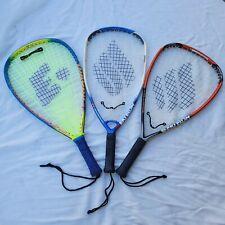 Lot Of 3 Ektelon Racquetball Racquets Warrior, Collision And Rurmoil