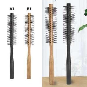 1X Professional Small Round Hair Brush for Thin or Short Hair Mini Round Nylon