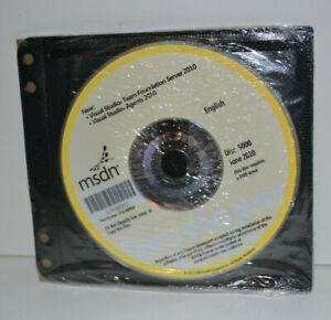 Microsoft MSDN Visual Studio Agents + Team Found. Server 2010 - Disc 5000 - NEW!