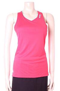 Adidas Climalite Top Pink & Green Supernova Aerobics Size 10 Ladies Sports Vest