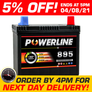 Powerline CTX895 SEALED 12V  (replaces 24ah) 'RIDE ON' MOWER BATTERY