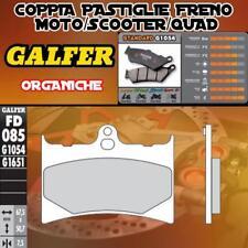 FD085G1054 PASTIGLIE FRENO GALFER ORGANICHE ANTERIORI BENELLI 125 JARNO 89-