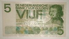 Niederlande Netherlands 5 Gulden 1966  P- 90a serial 4 NK 095509