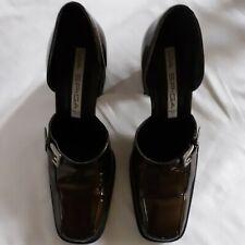 Via Spiga, Italian, Metallic Brown, Women's Shoes, Block Heel, Size 8B