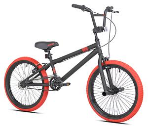 "Kent 20"" BMX Bike Freestyle Boy's Sport Bicycle, Lightweight, Matte Red NEW"