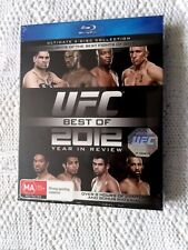 UFC BEST OF 2012 YEAR IN REVIEW-BLU-RAY, ULTIMATE 2-DISC COLLECTION, NEW