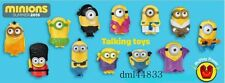 2015 McDonalds Talking Minions MIP Complete Set