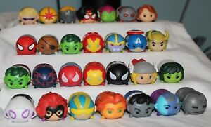 Marvel Large Tsum Tsum You Pick Vinyl Loose Spiderman Thanos Hulk Iron Man