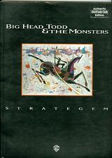 Big Head Todd & The Monsters Strategem authentic guitar tab Songbook sheet music