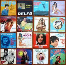 LOTTO 16 Dischi Vinile 45 Giri Canzoni Italiane Anni 60-70 Sanremo Vintage RARE