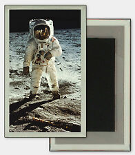 3D Lenticular Refrigerator Fridge Magnet NASA Space Astronaut Moon #MAF-401#