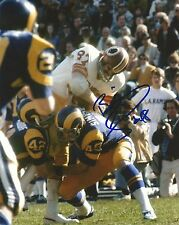 Bill Simpson Signed Rams 8x10 Photo Picture Los Angeles Pro Bowl #48 Autograph