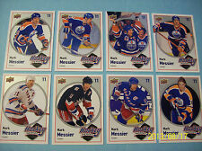 "2009-10 Upperdeck ""Hockey Heroes"" Complete 8 Card Base Set... Mark Messier!"