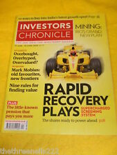 INVESTORS CHRONICLE - RULES FOR FINDING VALUE - JUNE 12 2009