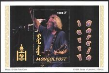 Mongolia 1998 Jerry Garcia/Rock Music/Guitar/Music/Musician 1v m/s (n17490)