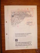 Service Manual Grundig ART-70  Autoradio,ORIGINAL