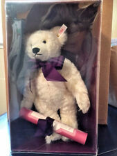 STEIFF Charlotte White Bear Hamleys Limited Edition ~ NEW with TAG in BOX