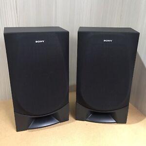 SONY hi-fi Speakers SS-G1 Black.