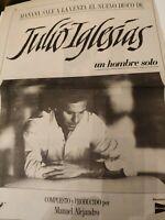 Julio Iglesias.Poster Nuevo Disco.1987!!