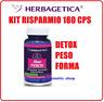 DETOX DIMAGRANTE ALOE FEROX 180 cps,  DIMAGRIRE 100% NATURALE PULIZIA INTESTINO