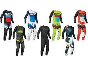 Thor MX Pulse Racer / Tropix Jersey & Pant Combo Set ATV Motocross Riding Gear