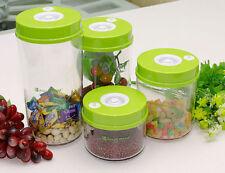 Vacuum Food Preservation Pump LIDS Kitchen Food Sealer Canisters LA CUCINA