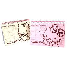 Hello Kitty - Desk Monthly Scheduler Weekly Planner Diary Planner Korean Planner