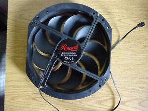 Rosewill DF2003012SEMN 200mm Black Low Noise Computer Case Cooling Fan