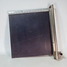 Vintage Genesis Safety Trimmer 16� Percision Paper Cutter Scrapbooking Crafts