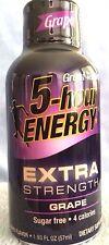 EXTRA Strength Grape Flavor 5 Hour Energy, 1.93-fl oz/Pk, 72 Pks , Free Shipping
