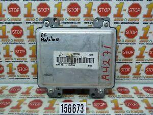 08-10 CHEVROLET MALIBU ENGINE COMPUTER MODULE ECU ECM 12625348 12607096 YRJW OEM