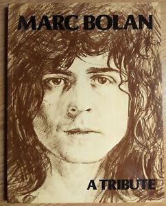 Marc Bolan A Tribute (1978 Essex House Book) T.Rex, Tyrannosaurus Rex