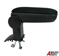For VW Polo 6R 6C 61 2011+ Car Armrest Arm Rest + Assembly Set Black Textile