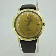 Vintage Girard Perregaux Gyromatic 39 Jewels GXM 14k Gold Filled Watch